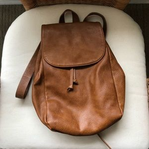 Forever 21 Faux Leather Backpack 🌿